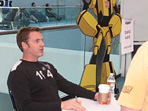David Kaye at an autograph session at Botcon 2008 in Cincinnati, Ohio.jpg