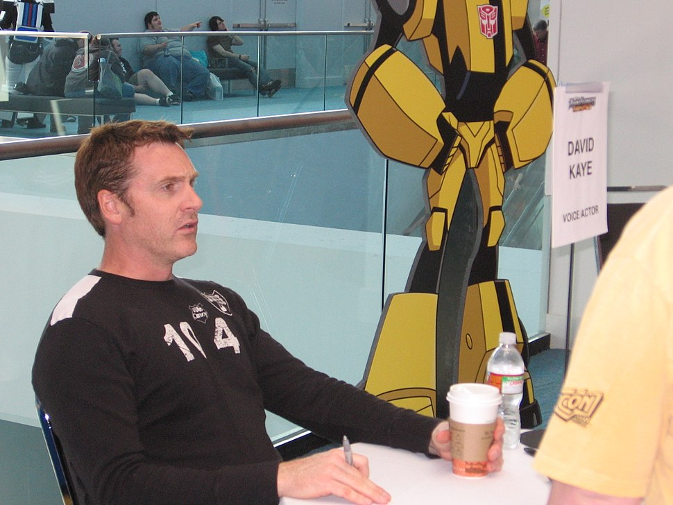David Kaye at an autograph session at Botcon 2008 in Cincinnati, Ohio