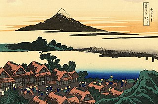 L'aurore à Isawa dans la province de Kai