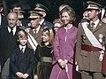 De proclamatie en beëdiging van Prins Juan Carlos tot Koning van Spanje tijdens , Bestanddeelnr 254-9764 (cropped bis).jpg