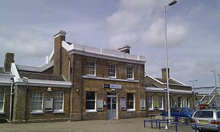 Deal railway station