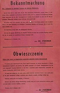 German retribution against Poles who helped Jews