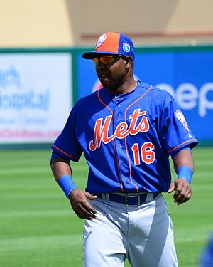 Alejandro De Aza - De Aza with the Mets in Spring Training