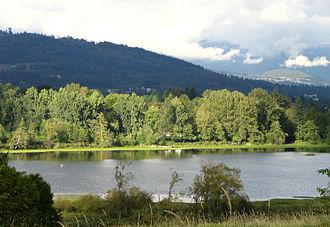 Deer Lake (British Columbia) - Image: Deer Lake in Burnaby