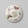 Deksel van terrine, beschilderd met vlinders en insecten, BK-14560-U-2-3.jpg
