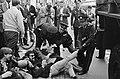 Demonstratie in Amsterdam tegen het Amerikaans optreden in Vietnam. Provo Hans …, Bestanddeelnr 919-3639.jpg