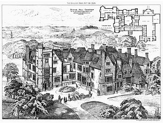 Arthur Blomfield - Denton Hall, 1879-1883