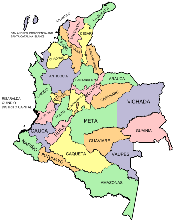 Departments of colombia.svg