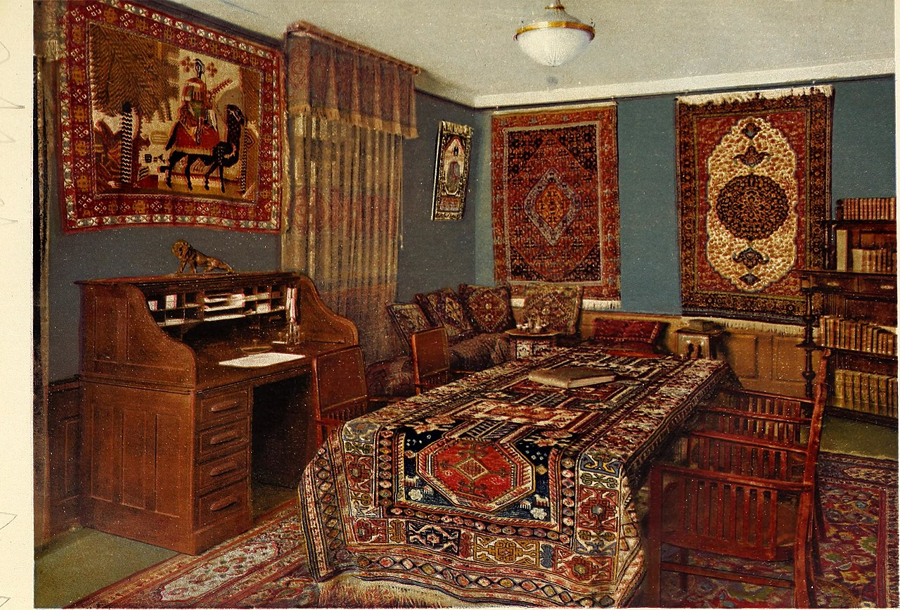 file der orient teppich in geschichte kunstgewerbe und handel 1917 14598494327 jpg. Black Bedroom Furniture Sets. Home Design Ideas