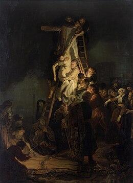 Descente de croix (Rembrandt, 1634) — Wikipédia