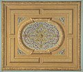 Design for a ceiling decorated with bands of oak leaves and a central panel of scrolls and rinceaux MET DP811433.jpg