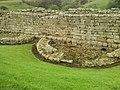 Detail from roman fort of Vindolanda 21.jpg