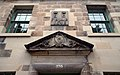 Detail of pediment and datestone on front elevation of Tolbooth.jpg
