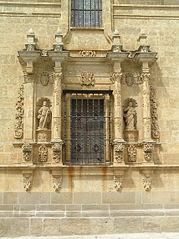 Detalle de la fachada de la Catedral de Ciudad Rodrigo (frontal).jpg