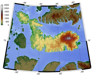 Devon Island - Topography of Devon Island