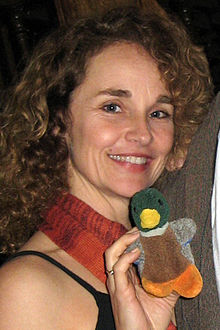Diane Franklin at a screening of Better Off Dead in سان فرانسسکو in 2009