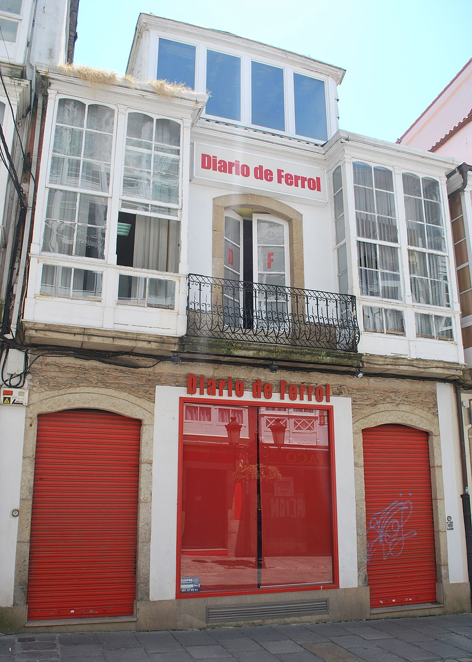Diario de Ferrol sede rúa Galiano