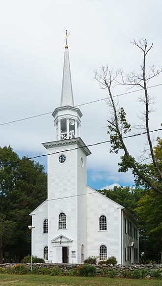 Dighton Community Church - Image: Dighton Community Church