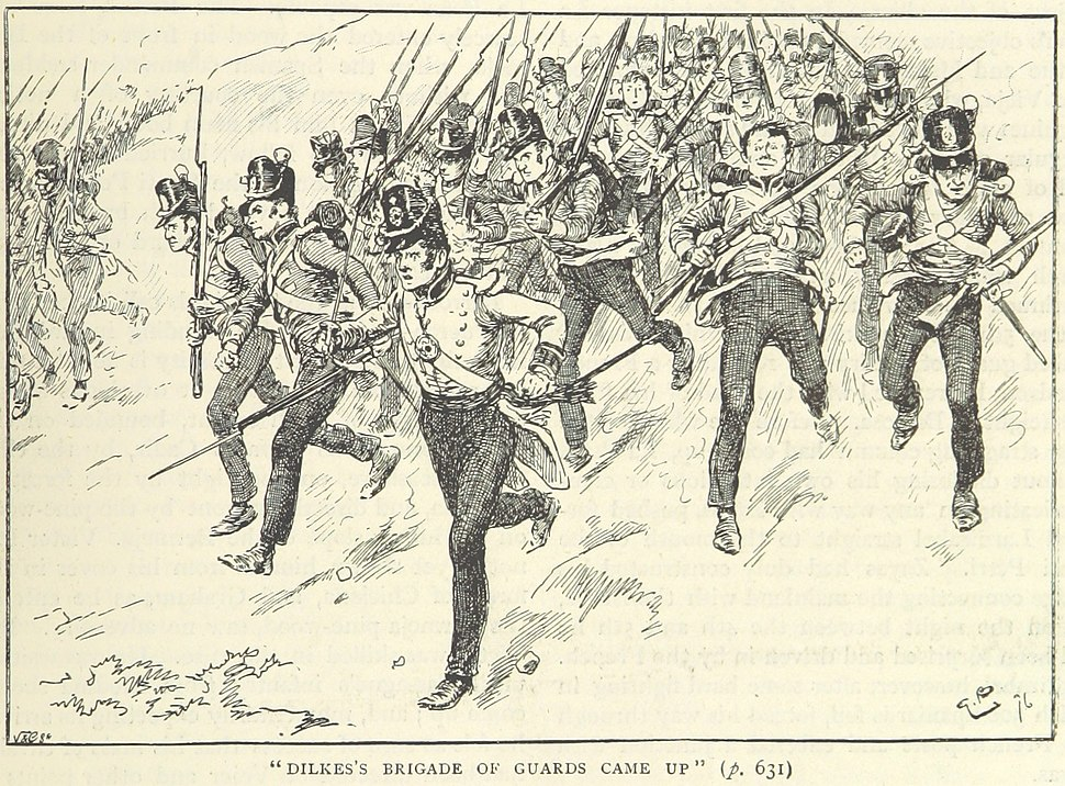 Dilke%27s brigade at Barrosa