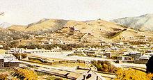 Veduta del ponte della Pila, di Luigi Garibbo, 1822