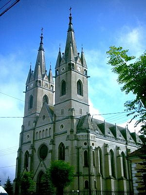 Ditrău - The Big church