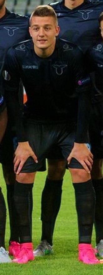 Sergej Milinković-Savić - Milinković-Savić lining up for Lazio in 2015