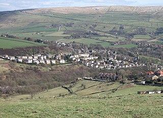 Dobcross Human settlement in England