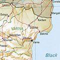 Dobritsch Bulgaria 1994 CIA map.jpg