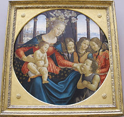 Madonna and Child with St. John the Baptist and Three Angels