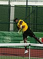 Dominic Pagon, first serve Jamaica, CAC games 2014.jpg
