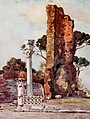 Domus Flavia on Palatine Hill by Alberto Pisa (1905).jpg