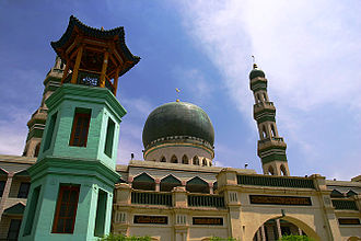Qinghai - The Dongguan Mosque in Qinghai