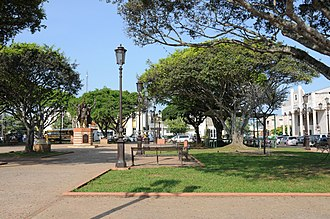 Dorado, Puerto Rico - Central Square in Dorado town.