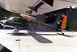 Dornier Do 28D Skyservant at Pferdsfeld air base, Germany, 26 August 1985.jpg