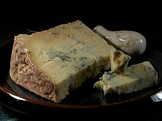 Dorset Blue Vinney - Image: Dorset Blue Vinney cheese