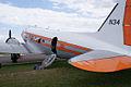 Douglas DC-3 N34 FAA LSideRear SNF 16April2010 (14443769140).jpg