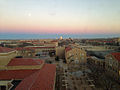 Downtown Lubbock sunset.JPG