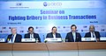 "Dr. Jitendra Singh after a seminar on ""Fighting Bribery in Business Transactions"".jpg"