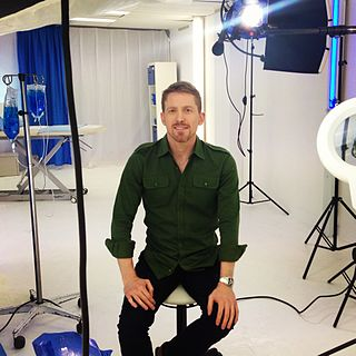 Brad McKay (doctor) Australian medical doctor and TV presenter