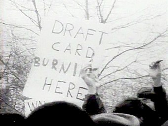 Draft Card Burning Military Wiki Fandom