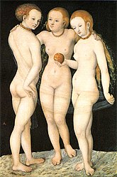 Lucas Cranach the Elder: The Three Graces