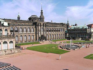 Semper Gallery Museumsbuilding in Dresden