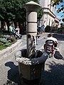 Drinking fountain at Kossuth Lajos Street, Keszthely, 2016 Hungary.jpg