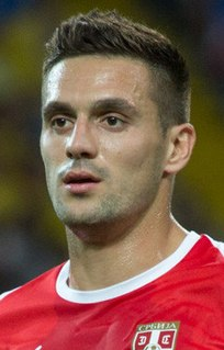 Dušan Tadić Serbian association football player