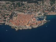 Dubrovnik's Old City, a UNESCO World Heritage Site and major tourist attraction