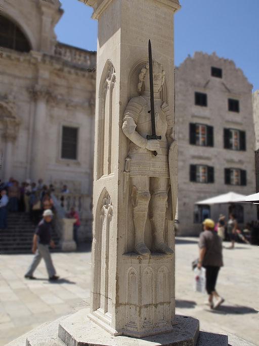 Dubrovnik Roland-Statue