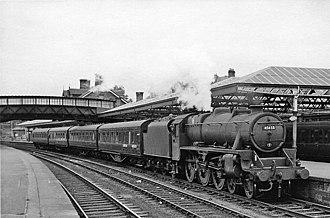Dumfries railway station - Image: Dumfries railway station 2064451 4f 127e 3a