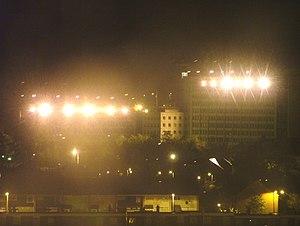 Northern Ireland Prison Service - Dundonald House by night