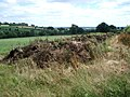 Dung pile at Pool House Farm - geograph.org.uk - 492559.jpg
