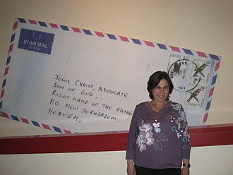 Dvora Bochman - Dvora Bochman at Eretz Israel Museum